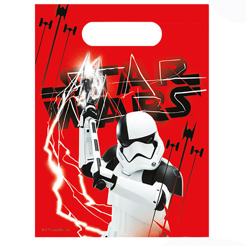 Star Wars The Last Jedi Party Loot Bags - Pack of 6