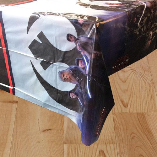 Star Wars The Last Jedi Plastic Tablecover 180cm x 120cm