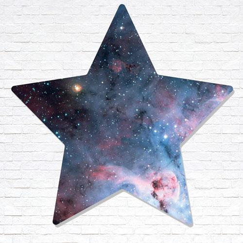 Stars Within Star Wall Art Cardboard Cutout 67cm