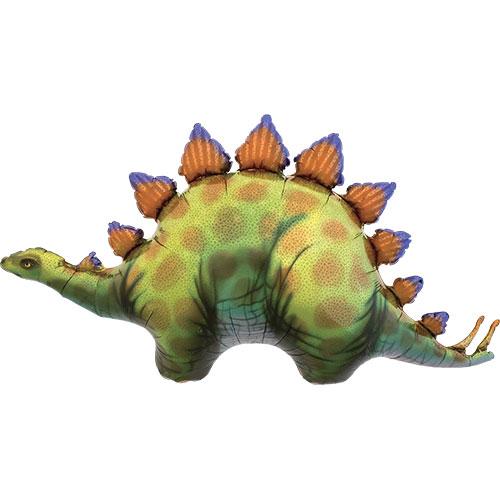 Stegosaurus Dinosaur Helium Foil Giant Balloon 104cm / 41  in Product Image