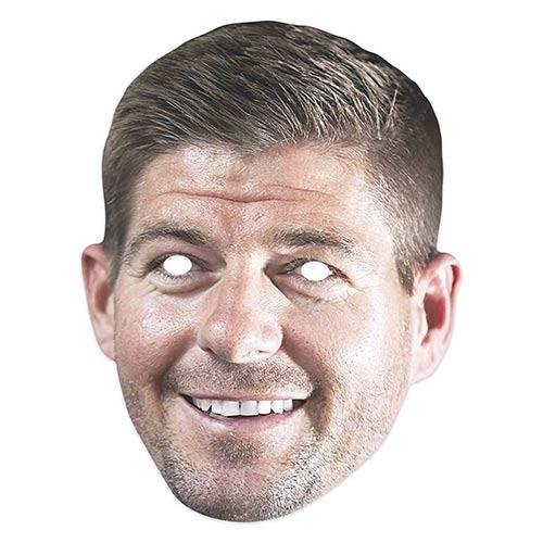 Steven Gerard Cardboard Face Mask