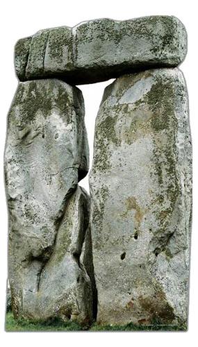 Stonehenge Lifesize Cardboard Cutout - 180cm Product Image