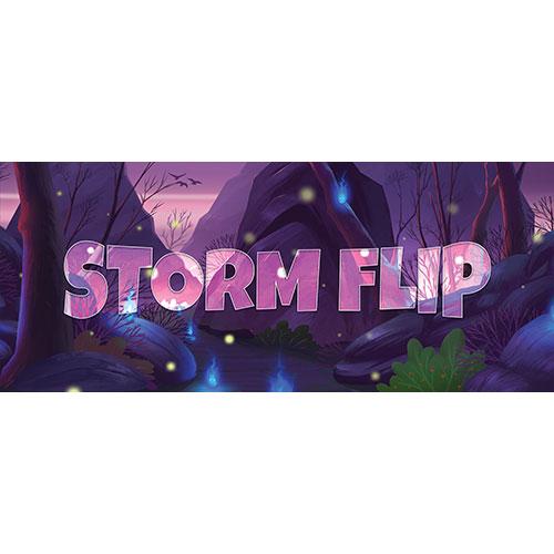 Storm Flip Forest Background PVC Party Sign Decoration 60cm x 25cm Product Image