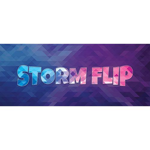 Storm Flip Home Screen Background PVC Party Sign Decoration 60cm x 25cm Product Image