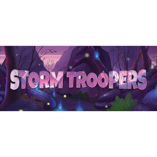 Storm Troopers Forest Background PVC Party Sign Decoration 60cm x 25cm Product Image