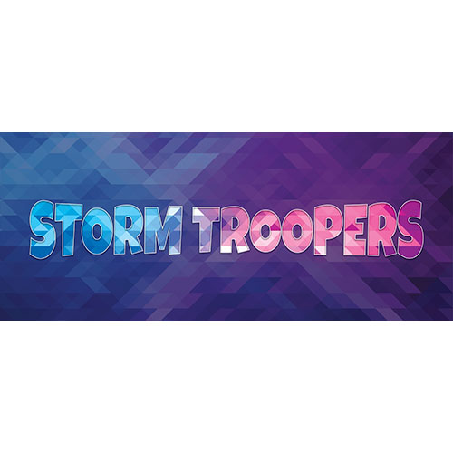 Storm Troopers Home Screen Background PVC Party Sign Decoration 60cm x 25cm Product Image