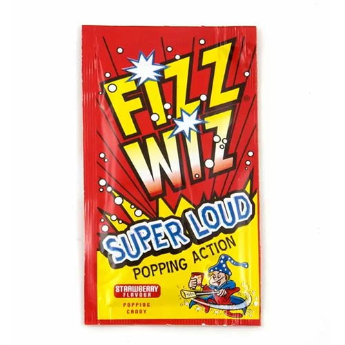 Strawberry Flavour Fizz Wiz Sweet Popping Candy 5g Product Image
