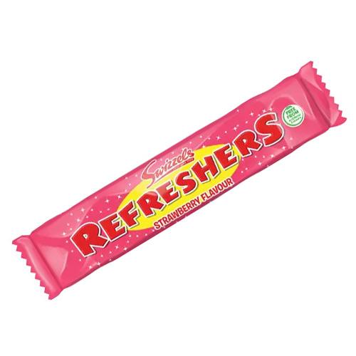 Strawberry Swizzels Refreshers Chew Bar Vegetarian Sweet 18g Product Image