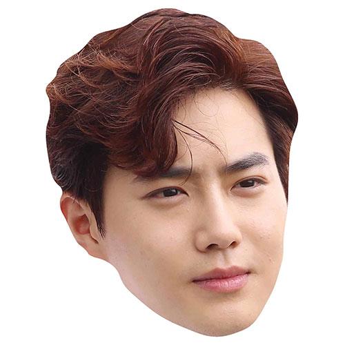 Exo Suho Kim Jun-myeon Cardboard Face Mask Product Image