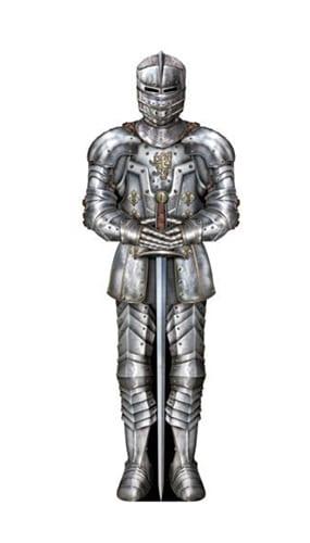 Suit of Armour Decorative Cutout - 3 Ft / 92cm Product Image