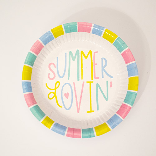 Summer Paper Bowls - Pack of 12 Product Image