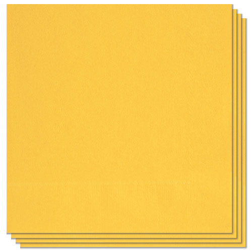 Sunflower Yellow Luncheon Napkins 33cm 2Ply - Pack of 20 Bundle Product Image