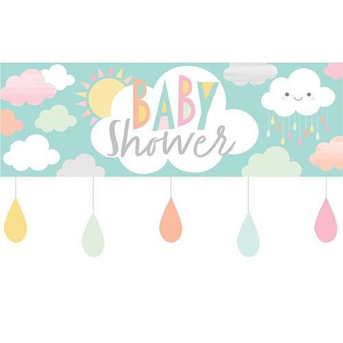 Sunshine Baby Shower Plastic Giant Banner 152cm Product Image