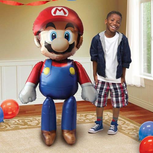 Super Mario Airwalker Foil Helium Balloon 152cm / 60Inch Product Image