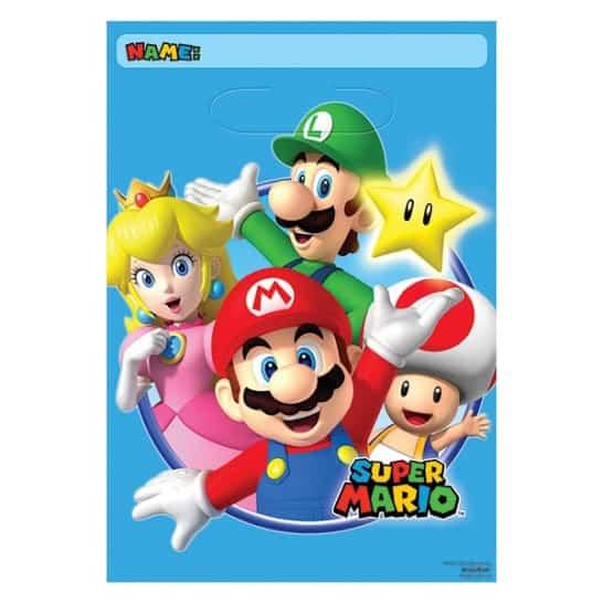 Super Mario Loot Bags - Pack of 8