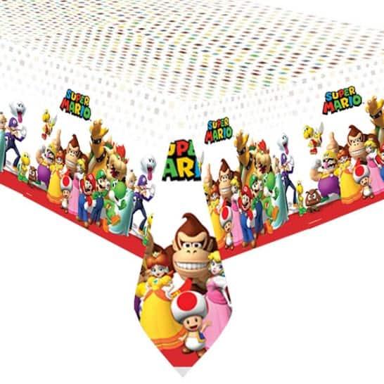 Super Mario Plastic Tablecover 243cm x 137cm