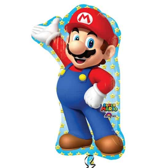Super Mario Helium Foil Giant Balloon 83cm / 33 in Product Image