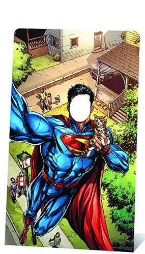 Superman Stand In Lifesize Cardboard Cutout - 168cm