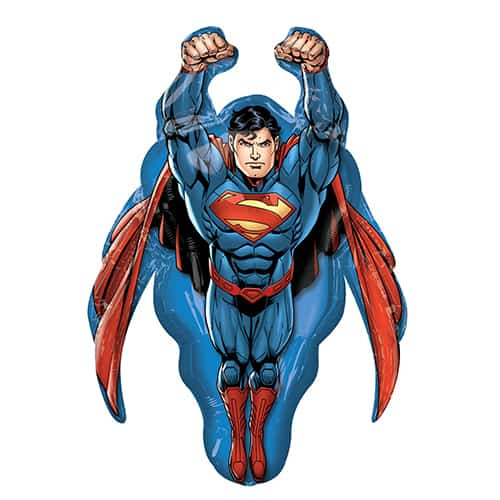 Superman Helium Foil Giant Balloon 86cm / 34 in Product Image