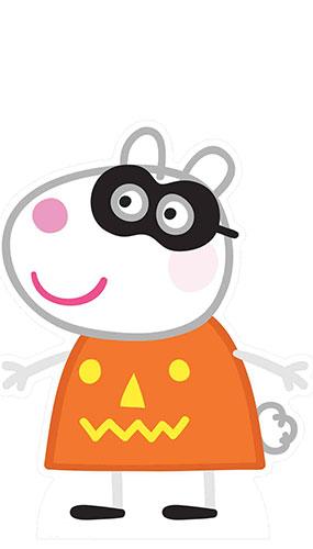 Suzy Sheep Peppa Pig Halloween Lifesize Cardboard Cutout 73cm Product Image