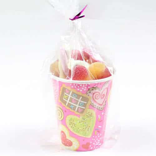 Sweet Valentine Candy Cup