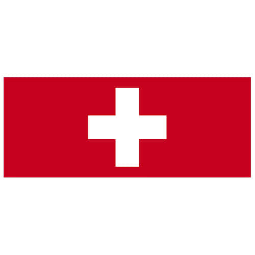 Switzerland Flag PVC Party Sign Decoration 60cm x 24cm Product Image