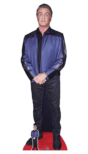 Sylvester Stallone Lifesize Cardboard Cutout 177cm Product Image
