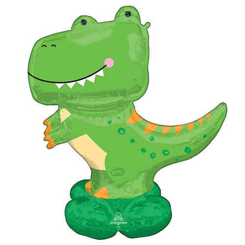 T-Rex Airloonz Air Fill Giant Foil Balloon 137cm / 54 in Product Image