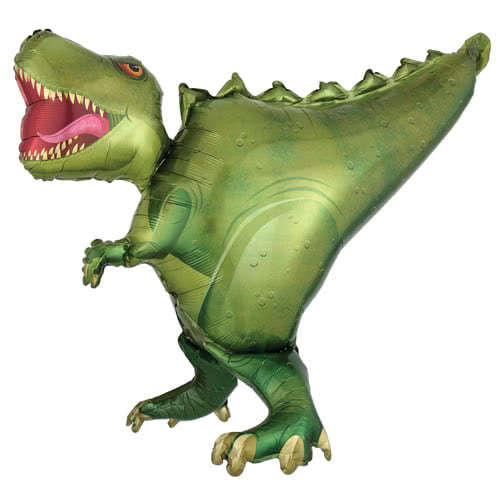T-Rex Dinosaur Helium Foil Giant Balloon 91cm / 36 in Product Image