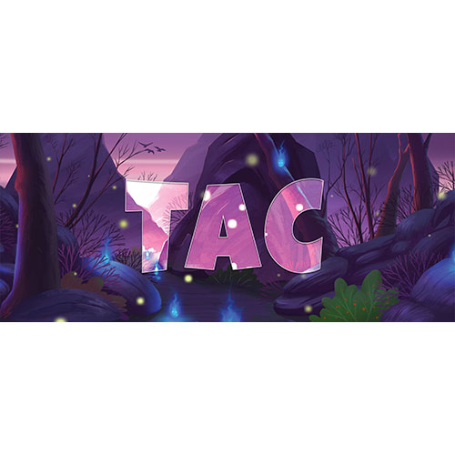 Tac Forest Background PVC Party Sign Decoration 60cm x 25cm Product Image