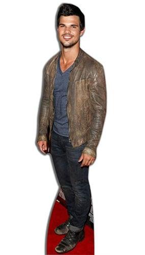 Taylor Lautner Lifesize Cardboard Cutout - 178 cm Product Image