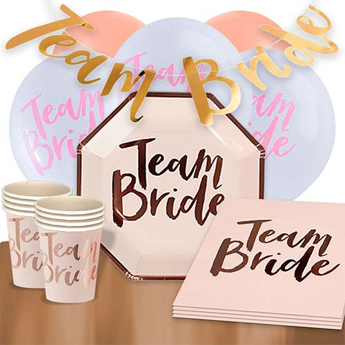 Team Bride 16 Person Deluxe Party Pack