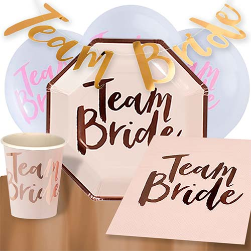 Team Bride 8 Person Deluxe Party Pack