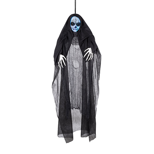 Tearing Reaper Halloween Animated Prop Hanging Decoration 150cm Product Image