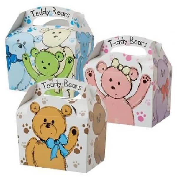 Teddy Bear Meal Box