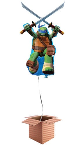 Teenage Mutant Ninja Turtles Helium Foil Giant Balloon - Inflated Balloon in a Box Product Image
