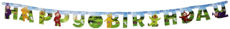 Teletubbies Jointed Letter Banner - 160cm