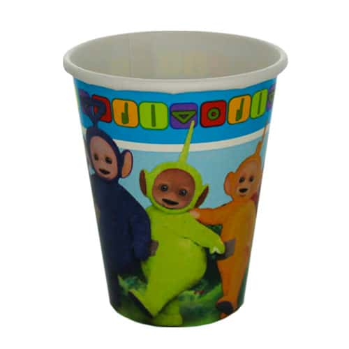 Teletubbies Paper Cups 266ml - Pack of 8