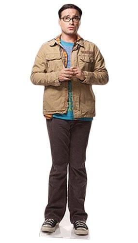 The Big Bang Theory Leonard Lifesize Cardboard Cutout - 170cm Product Image