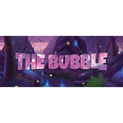 The Bubble Forest Background PVC Party Sign Decoration 60cm x 25cm Product Image