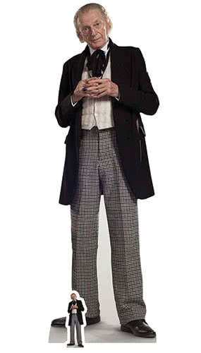 Doctor Who The First Doctor David Bradley Lifesize Cardboard Cutout 174cm Product Image