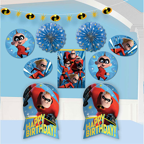 The Incredibles 2 Room Decoration Kit