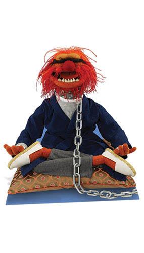 The Muppets Animal Lifesize Cardboard Cutout - 91cm Product Image