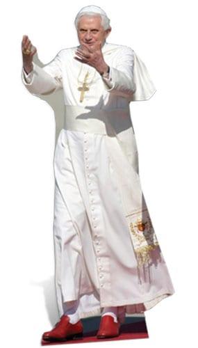 The Pope Lifesize Cardboard Cutout - 180cm Product Image