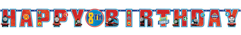 Thomas And Friends Add An Age Jumbo Letter Banner Kit 320cm