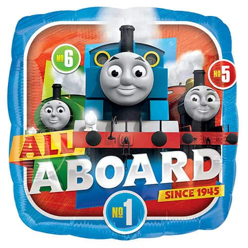 Thomas And Friends Square Foil Helium Balloon 43cm / 17Inch Product Image