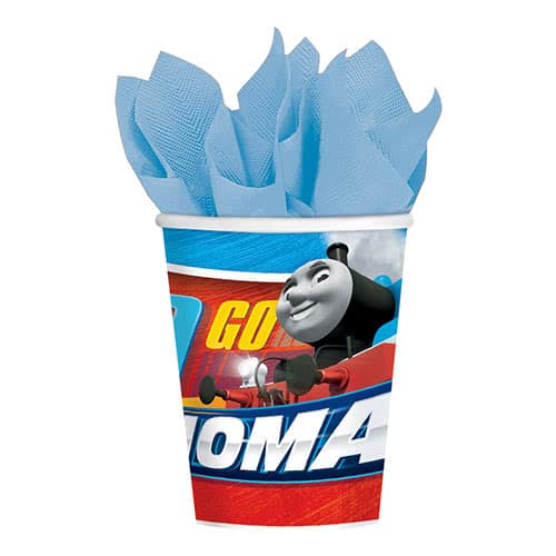 Thomas And Friends Paper Cups 266ml - Pack of 8