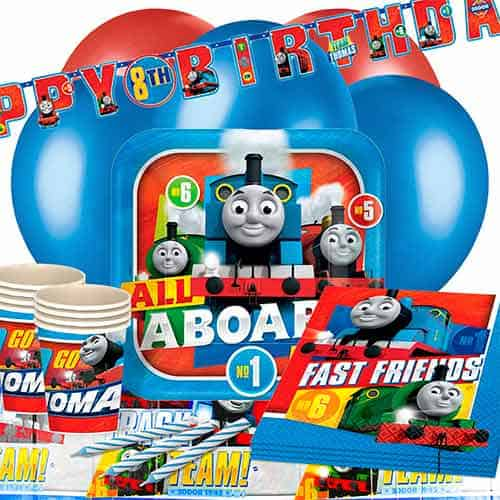 Thomas And Friends 16 Person Deluxe Party Pack