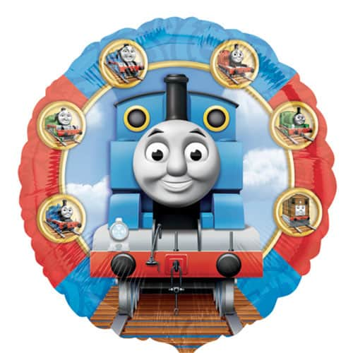 Thomas And Friends Round Foil Helium Balloon 43cm / 17Inch Product Image