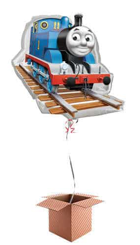 Thomas And Friends Helium Foil Giant Balloon - Inflated Balloon in a Box Product Image